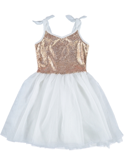 Toddler Girls Sequins Dress