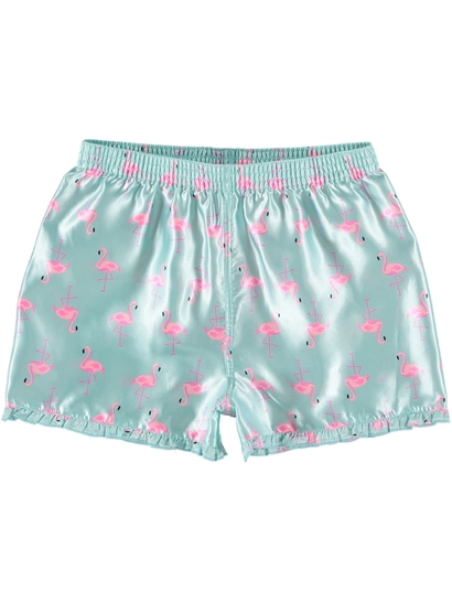 Girl Satin Boxer
