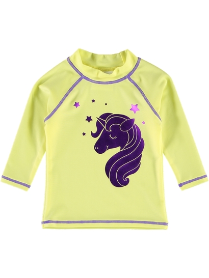 Toddler Girls Long Sleeve Rash Top