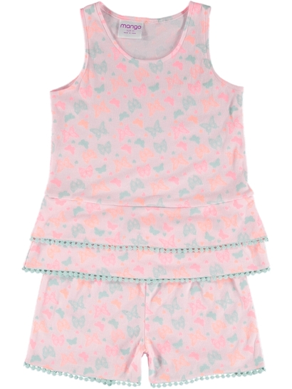 Girls Fashion Frill Pyjamas a487efa2f