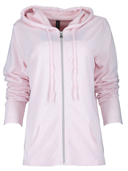 Space-Dye Zip-Through Hoodie Womens