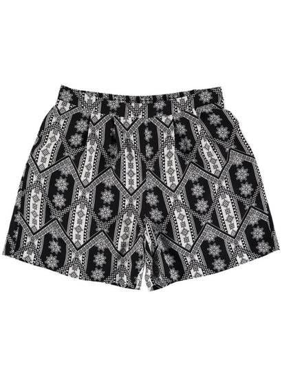 Womens Printed Short