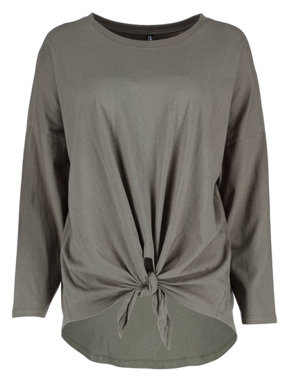 Womens Front Knot Top