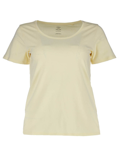 Plus Organic Cotton Scoop Neck Tee Womens
