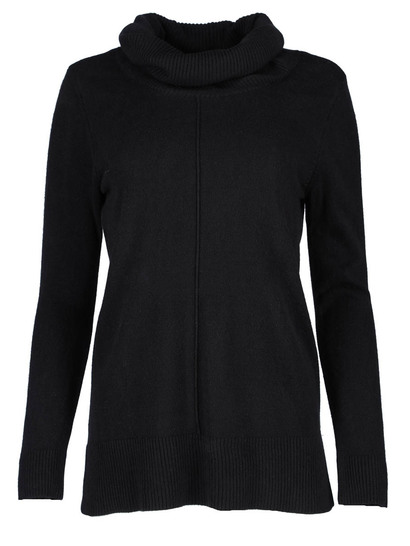 Plus Roll Neck Pullover Womens