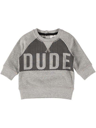 Baby Fleece Print Sweater