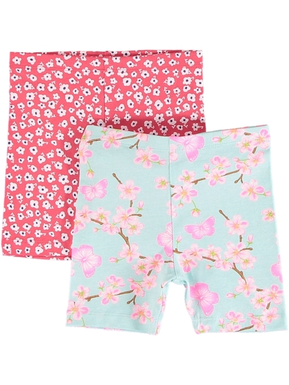 Toddler Girls 2 Pk Bike Shorts