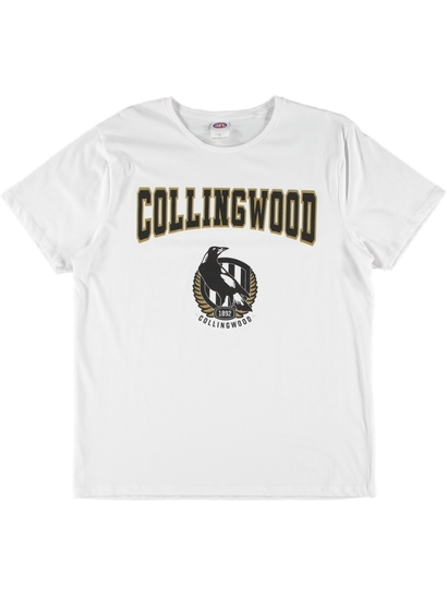 MENS WHITE AFL T-SHIRT
