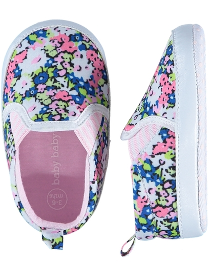 Baby Girl Soft Sole Print Shoe
