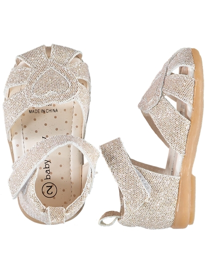 Baby Girl Love Heart Walker Sandal