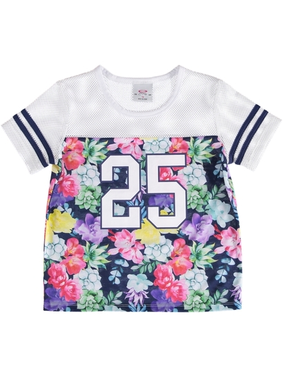 Girls Floral Active Top