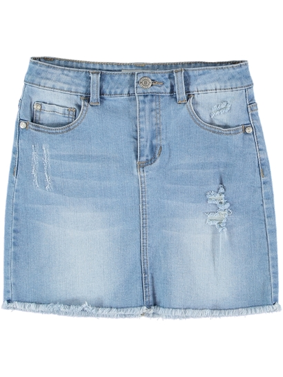 Girl Denim Skirt