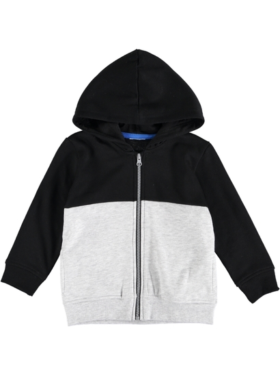 Toddler Boys Zip Thru Hoodie