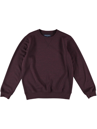 Men Crew Neck Fleece Jumper