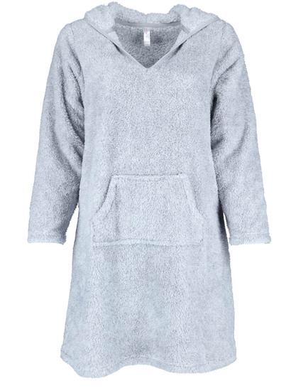 Hooded Fluffy Nightie