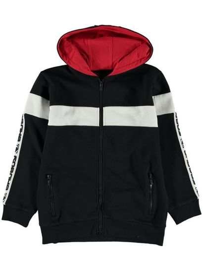 Boys Bad Boy Zip Thru Hoodie
