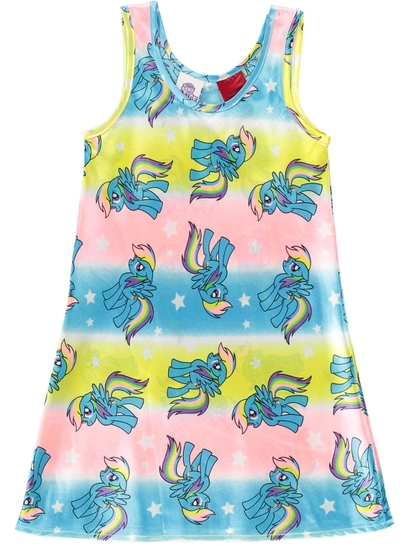 Girls My Little Pony Satin Nightie