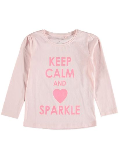 Toddler Girls Long Sleeve Print Tee