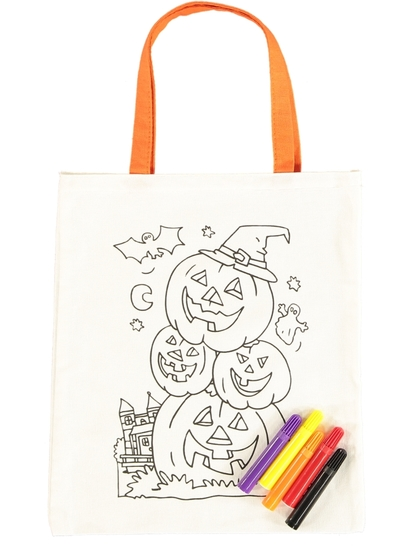 Kids Halloween Drawing Bag