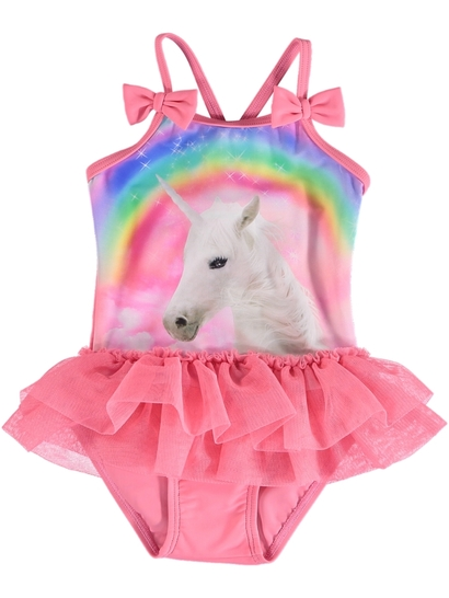 Toddler Girls Unicorn Swimsuit
