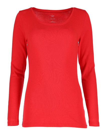 Womens Organic Cotton Long Sleeve Top
