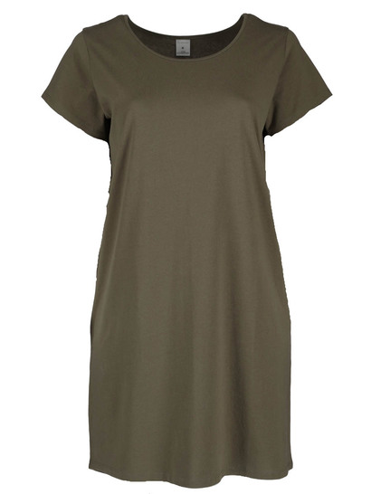 Womens Plus High Low T-Shirt Dress