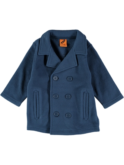 Boys Fleece Peacoat