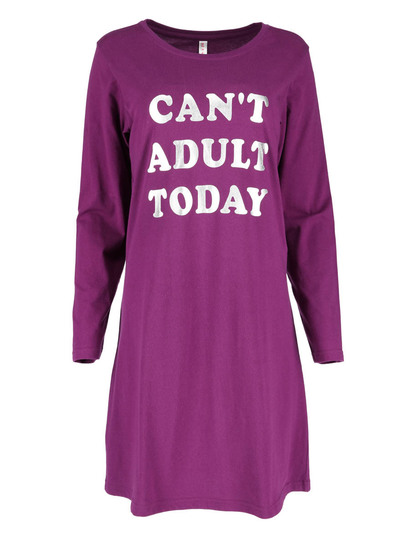 Womens Long Sleeve Nightie