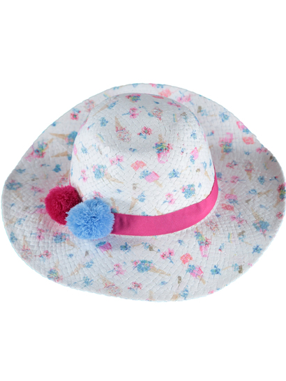 Girl Printed Sun Hat