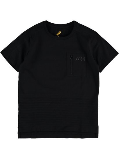 Boys Fashion Pin Tuck T-Shirt