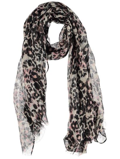 Women Animal Print Scarf