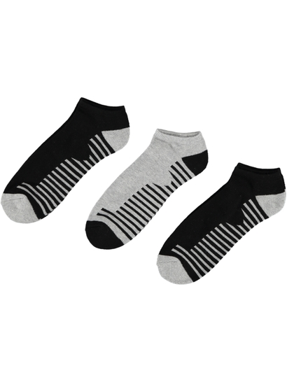 Mens 3 Pack Elite Low Cut Sock