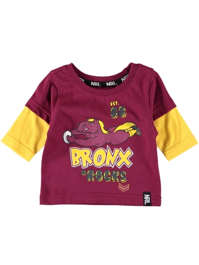 Infants Nrl Double Sleeve Tee