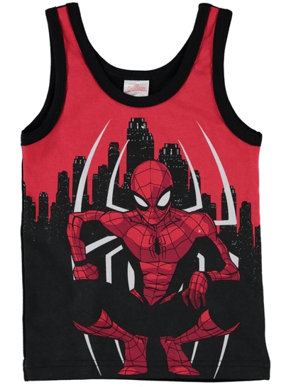 Boys Vest Spiderman