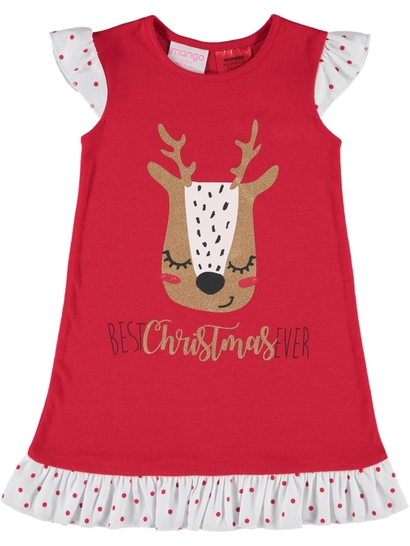 Girls Xmas Nightie