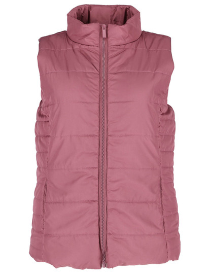 Plus Zip Through Gilet Womens