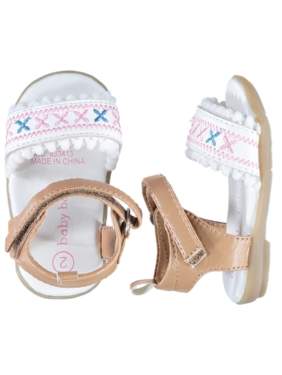 Baby Girl Hard Sole Sandal
