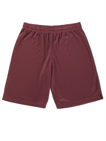 MAROON BOYS SPORTS MESH SHORTS