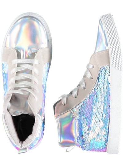 Girls Sequin High Top