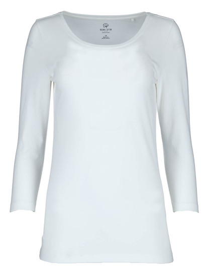 WOMENS PLUS ORGANIC COTTON 3/4 SLEEVE TEE