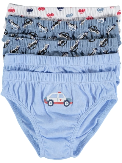 Kids 5 Pack Briefs