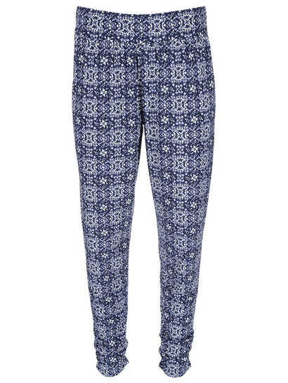 Womens Plus Slinky Print Pant
