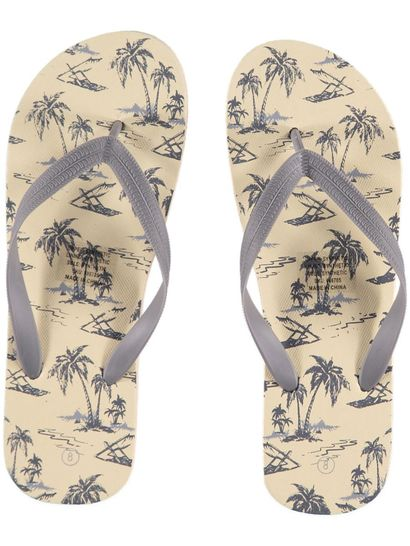 Mens Vintage Palm Print Favourite Thong