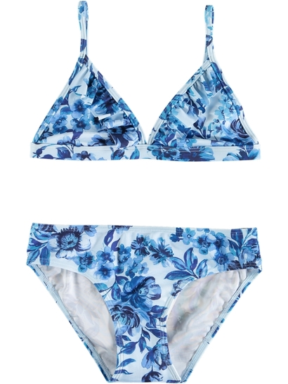 Girls Floral Bikni