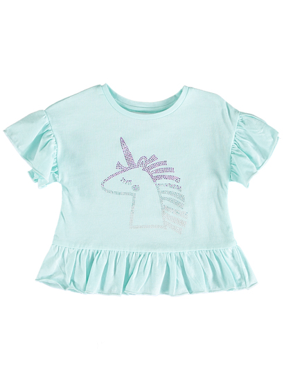 Toddler Girls Diamontie Top