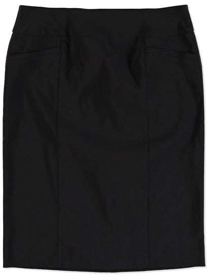 PULL ON BENGALINE SKIRT WOMENS