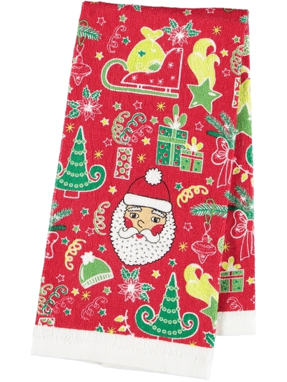 X-Mas Terry Tea Towel