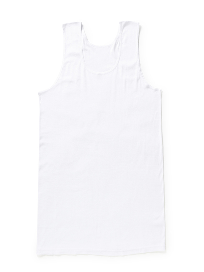 BONDS CHESTY WHITE SINGLET