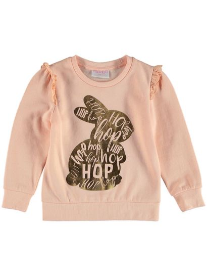 Toddler Girls Ruffle Sweat Top