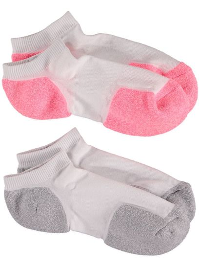 Actice Low Cut 2Pk Sports Socks Underworks Womens